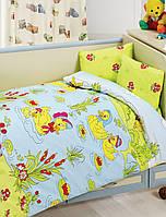 Комплект белья для кроватки Class (Bahar teksil) Duck