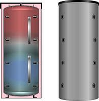 Теплоакумулятори, буферні ємності (накопичувачі теплової енергії) для твердопаливних котлів