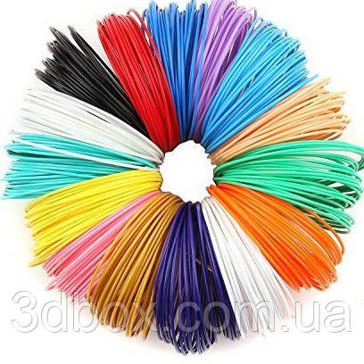 Набор PLA-пластика для 3d-ручки, 12 цветов, Large, фото 1