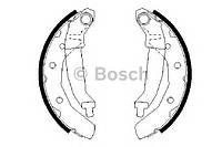 0986487628 Bosch колодки тормозные задние, барабанные