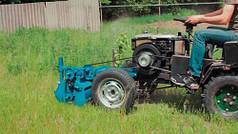 Мульчер для мотоблока с передним креплением