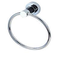 Кольцо под  полотенца 19*8,5*21см, латунь и нерж.сталь