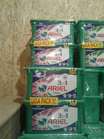 Ariel capsules Тройные капсулы для цветного 42 шт