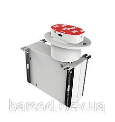 Датчик с рулеточным механизмом для защиты товара на вертикальных поверхностях