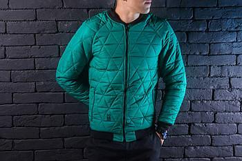 """Мужская куртка Pobedov """"Progress"""" (Победов) зеленый"""