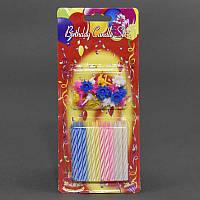 Свечи для торта праздничные С 23466 (288) 24шт в упаковке, 6см