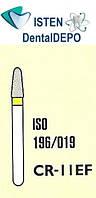Боры CR-11EF - жёлтый для препарирования, MANI (3 шт.), фото 1