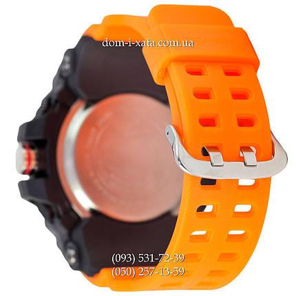 Электронные часы Casio G-Shock GG-1000 Black-Orange Wristband, спортивные часы Джи Шок черный-зеленый, фото 2