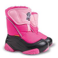 Сапоги зимние детские Demar DOGGY-2  розовые (new)