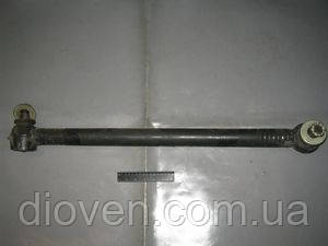 Тяга продольная КРАЗ рулевая в сборе (L-775 mm), 6437 палец (Арт. 6437-3414010-10)