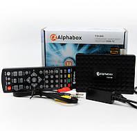 Приставка для цифрового телебачення Т2 Alphabox T24M AC3 IPTV YouTube Megogo