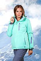 Женская лыжная куртка мята