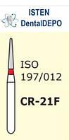 Боры CR-21F - красный для препарирования, MANI (3 шт.), фото 1