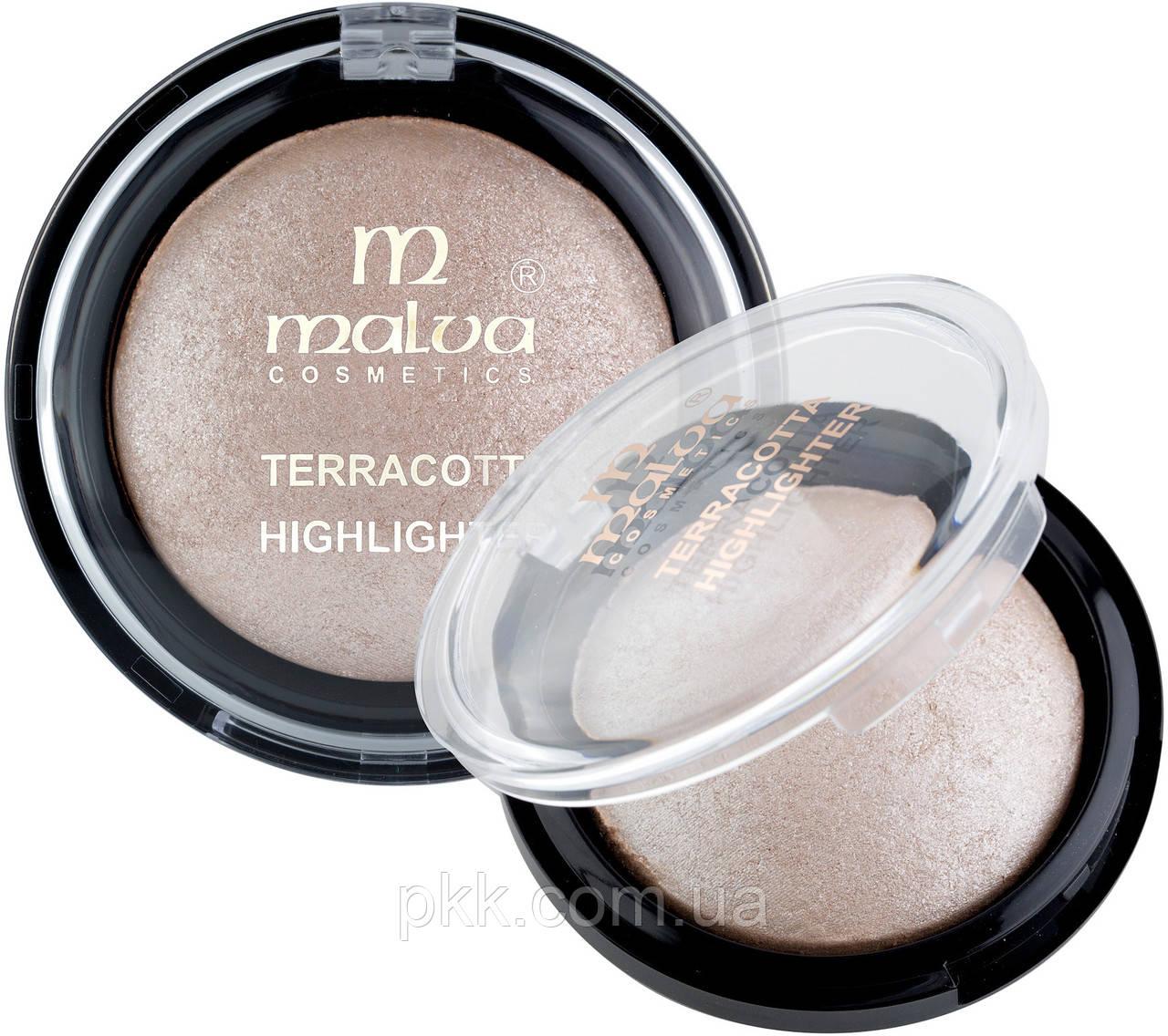 Хайлайтер для лица Malva Cosmetics Crystal Marble М 492