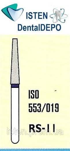 Боры RS-11 -  синий для препарирования, MANI (3 шт.)
