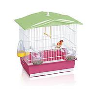 Imac Tiffany АЙМАК ТИФФАНИ клетка для канареек, пластик, 42х26х42 см, розовый
