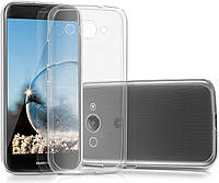 - Чехол Silicon Case for Huawei Y3 (2017) Clear