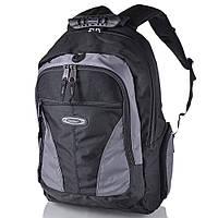 Рюкзак для ноутбука Onepolar Мужской рюкзак с отделением для ноутбука ONEPOLAR (ВАНПОЛАР) W1077-grey, фото 1