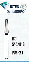 Боры RS-21 -  синий для препарирования, MANI (3 шт.), фото 1