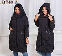 Пальто женское 17663дг зима батал
