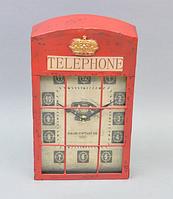 """Часы настенные """"Telephone""""  (35*20*6 см)"""
