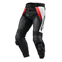 Кожаные мотоштаны Shima STR black/white/fluo red
