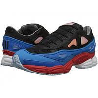 Кроссовки Adidas х Raf Simons, цвет сине-красные