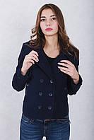 Кашемировое короткое пальто женское