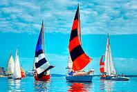 Разноцветные паруса