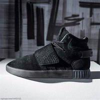 Кроссовки Adidas Tubular, цвет черный.
