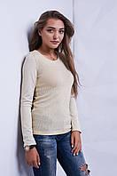 Кофта женская тонкая вязка с люрексовой нитью p.42-46 S1370