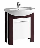 RUNA шкафчик под мебельный умывальник 65*79*31,8 см венге/белый глянец (укр.)