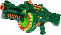 Бластер,пулемет Limo Toy с мягкими пулями 7001
