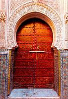 Дверь в форме арки