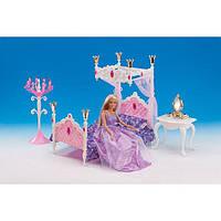 """Мебель для кукол Gloria """"Спальня"""" (1214)"""