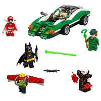 Lego Batman Movie Гоночный автомобиль Загадочника Batman Movie The Riddler Riddle Racer 70903