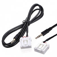 Мини-джек AUX аудио вход MP3-плеер кабель адаптер для Mazda 3.5мм