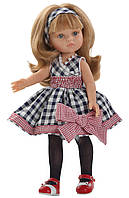 Кукла Карла в платье в клеточку Paola Reina (04587)