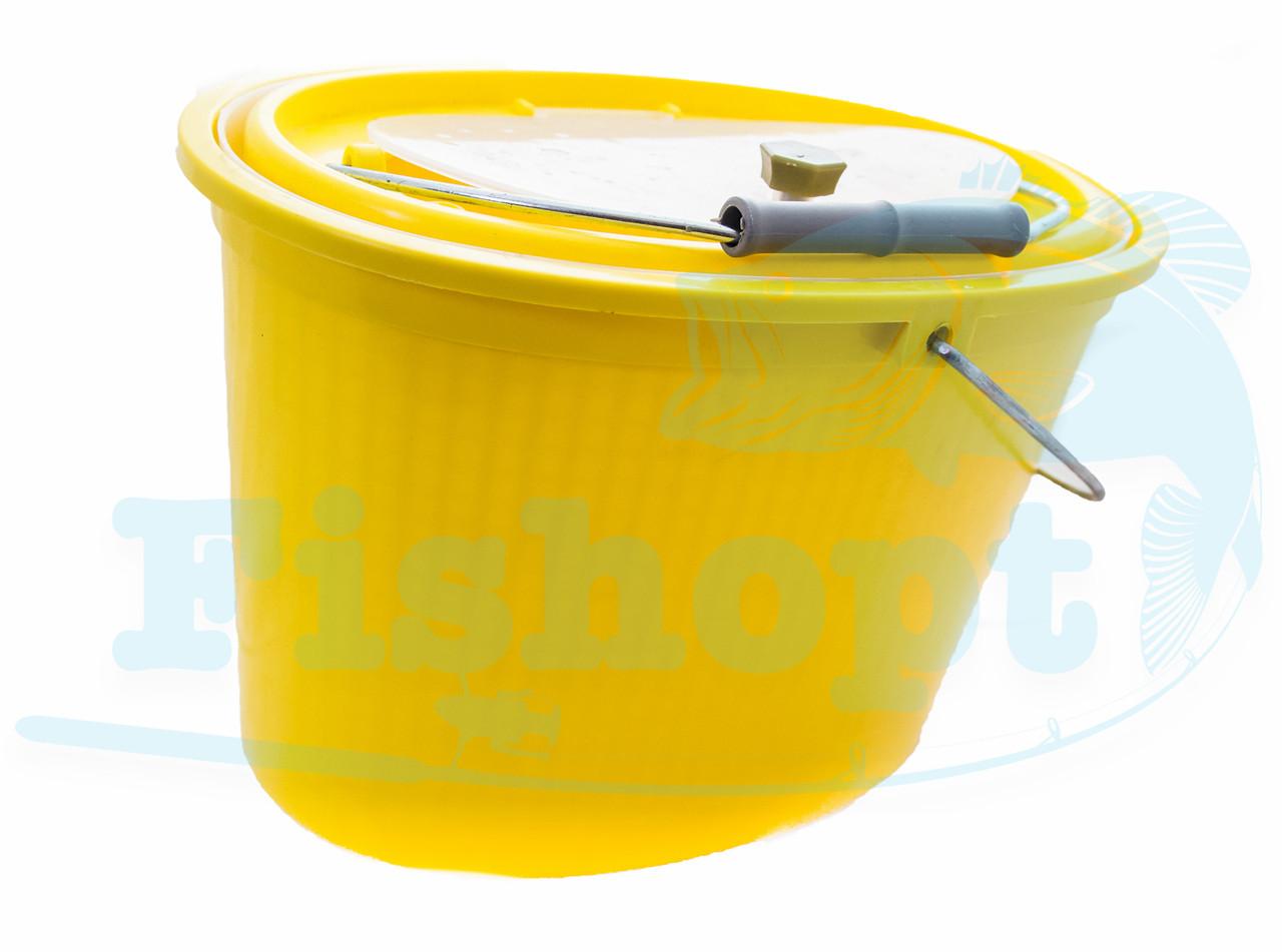 Канна для живця Condor  Yellow  5 літрів
