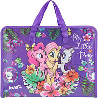 Портфель на молнии А4 My Little Pony,LP17-202-01