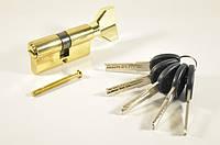 Цилиндр Imperial цинк 60мм 30х30 5 кл с бар комп желтый