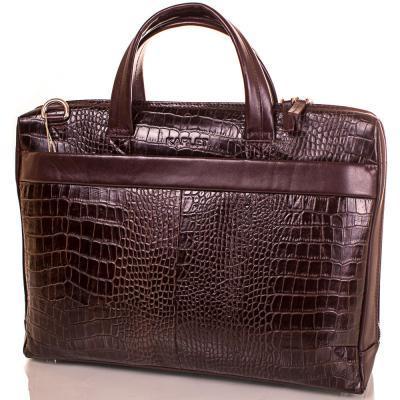 844eecd6dc31 Портфель Karlet Кожаный мужской портфель с отделением для ноутбука 12,6