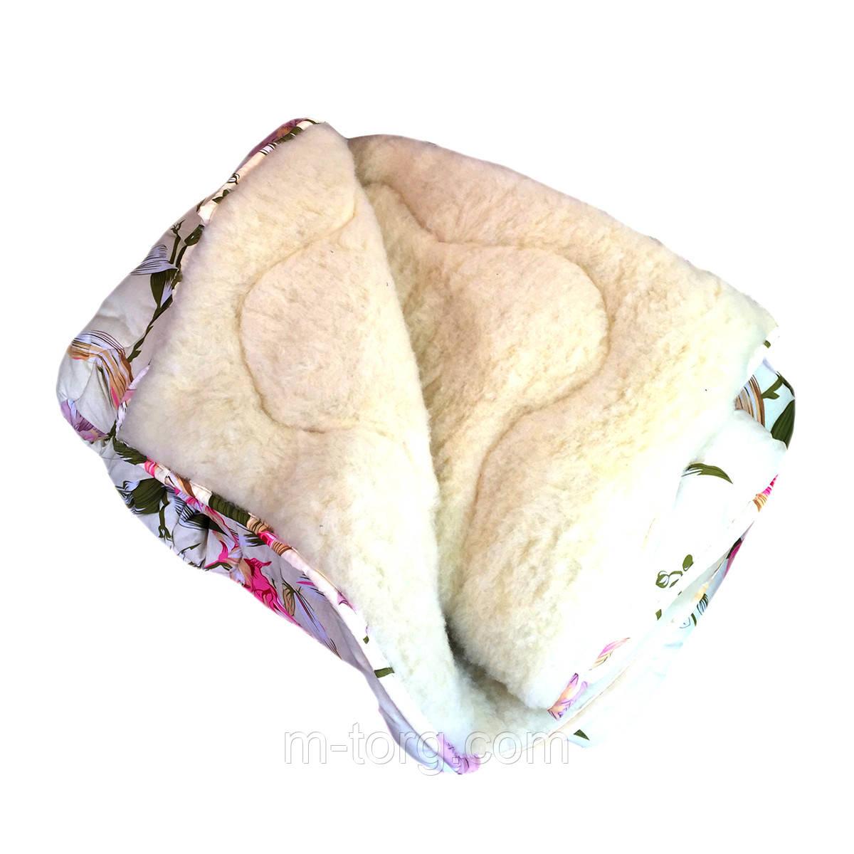 Одеяло двуспальное 180/220 из овчины
