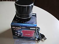 Портативная колонка Atlanfa АТ-9502 с поддержкой Bluetooth