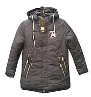 Зимняя куртка для подростка в спортивном стиле НС-05