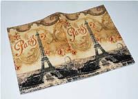 Женская обложка для паспорта/загранпаспорта -Винтажная башня-