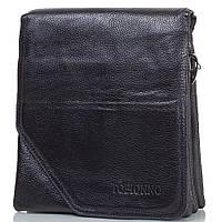 Борсетка-сумка Tofionno Кожаная мужская борсетка TOFIONNO (ТОФИОННО) TU6010-3-black
