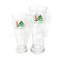 Брендированные бокалы для пива.