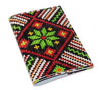 Патриотическая обложка на паспорт -Вышивка-
