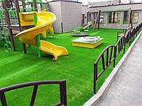 Послуга монтажу штучної трави для дитячих майданчиків 20 мм